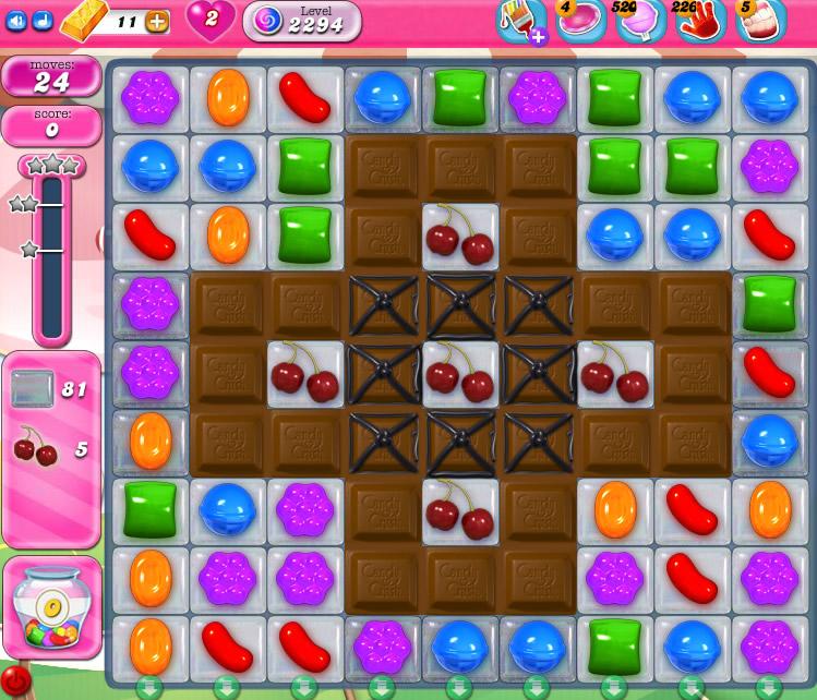 Candy Crush Saga level 2294