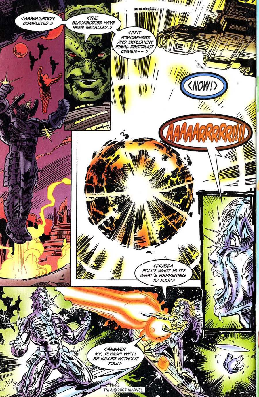 Read online Silver Surfer (1987) comic -  Issue #117 - 30
