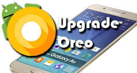 cara update android 8.0 oreo di Galaxy A8 2018