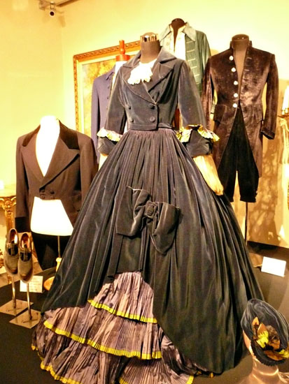 Debbie Reynolds costume exhibit Mary Pickford dress by Lady by Choice