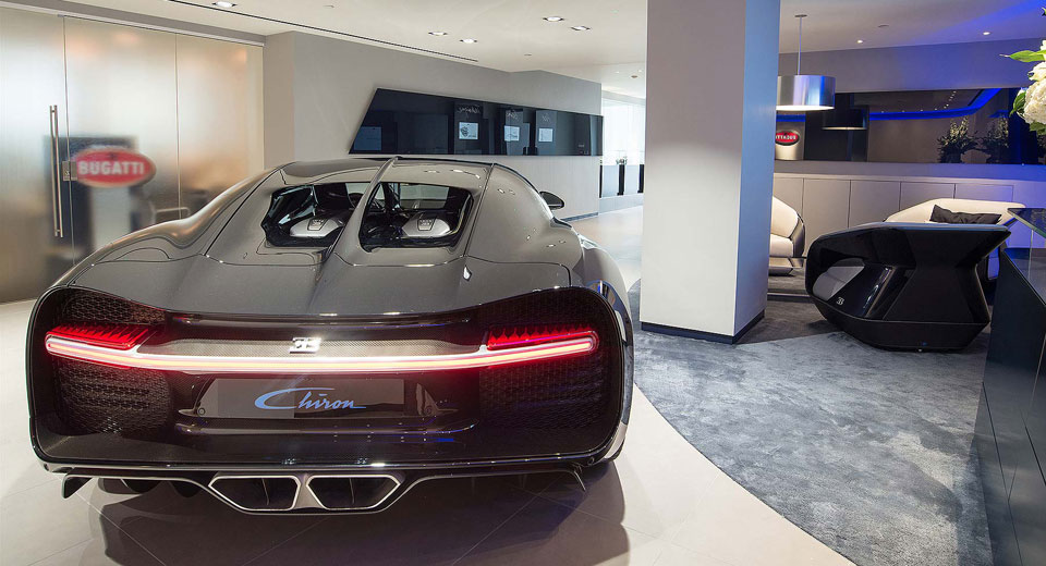 Bugatti Opens Redesigned Showroom In London Before Chiron