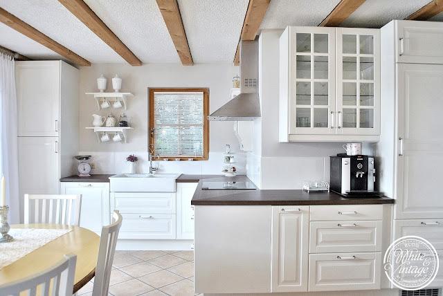 Weiße Küche im Landhausstil: Deko und DIY Blog White and Vintage