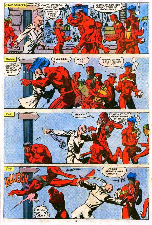 Daredevil v1 #169 marvel comic book page art by Frank Miller