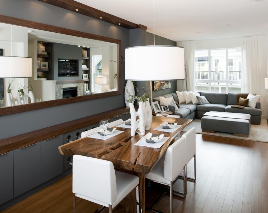 70 Desain Interior Ruang Keluarga Dan Ruang Makan Minimalis Yang