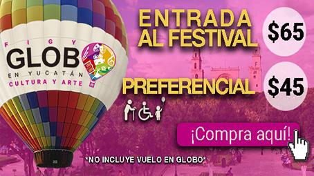 costo festival del globo yucatán
