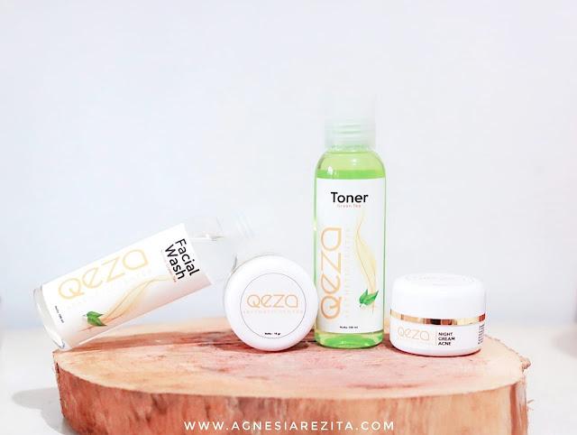 Qeza Skin Acne Removal Green Tea Series