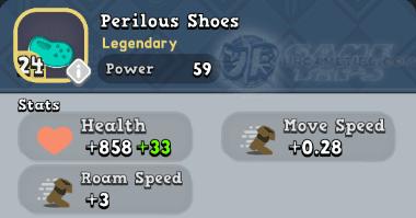 World of Legends:Perilous Shoes