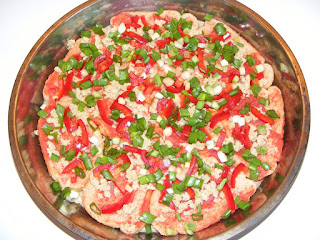 reteta si mod de preparare pentru pizza de post cu legume,