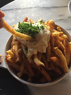 french fries with garlic aioli