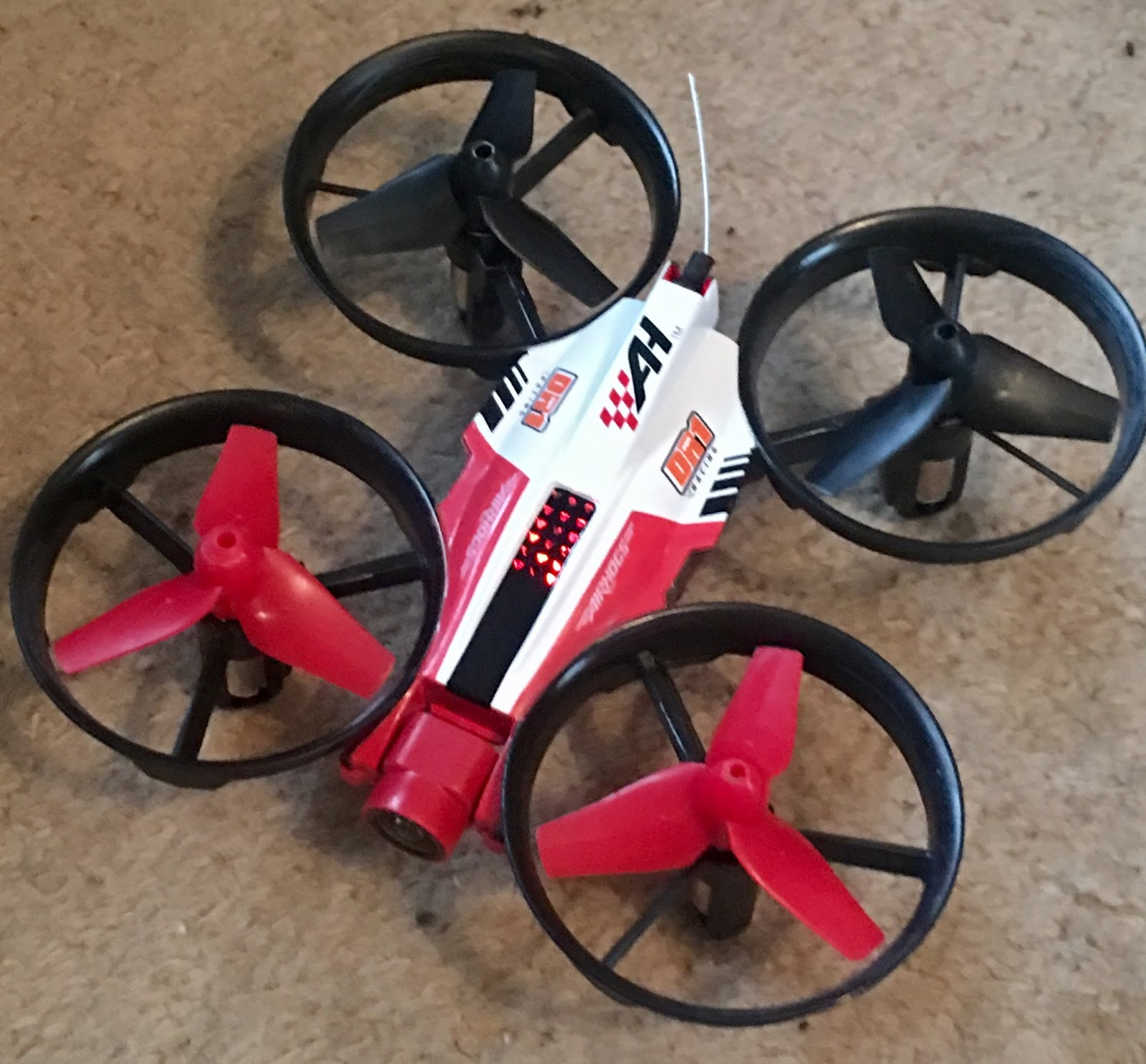 Air Hogs DR1 FPV Race Drone Record Or Live Stream Video Footage AHRaceLikeAPro