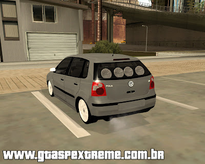 Vw Polo 2005 Edit para grand theft auto