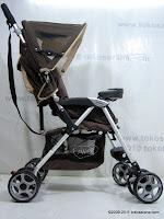 3 Pliko PK509 Cruz Buggy Baby Stroller with Alumunium Frame
