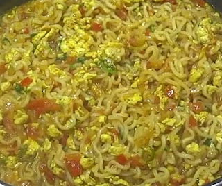 homemade egg maggi recipe