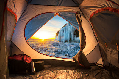 Rent a tent in Reykjavik and wake up to beautiful view of a waterfall