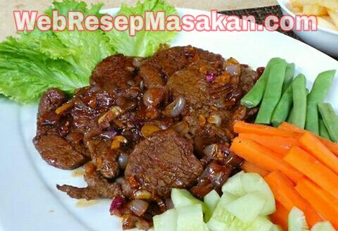 Daging BBQ Lada Hitam, Resep daging bbq lada hitam,