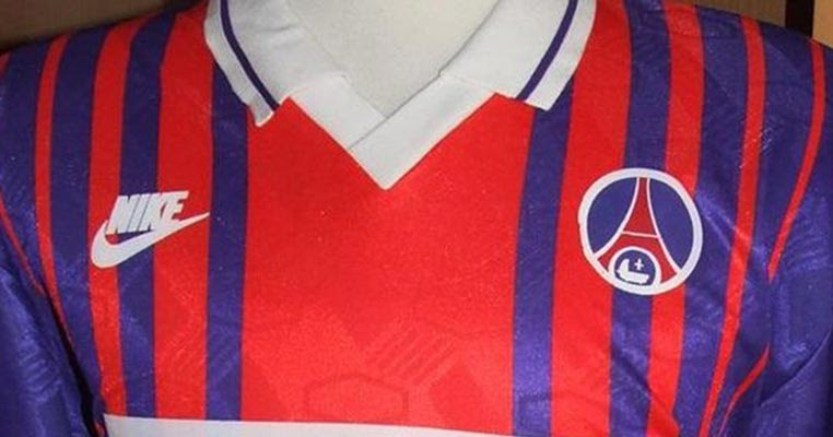coincidence this 1994 psg kit looks almost exactly like