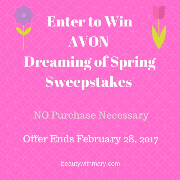 Avon Sweepstakes February 2017