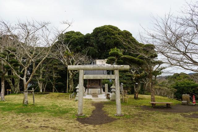 城山公園(館山城)の浅間神社