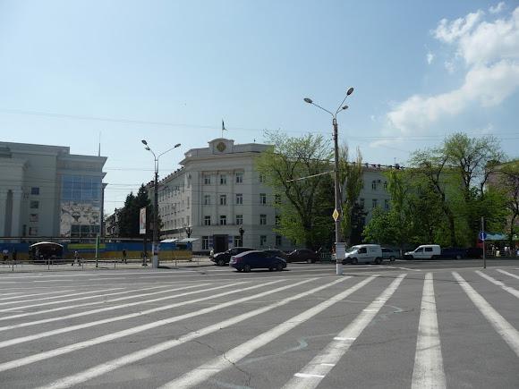 Херсон. Площадь Свободы. Районная государственная администрация