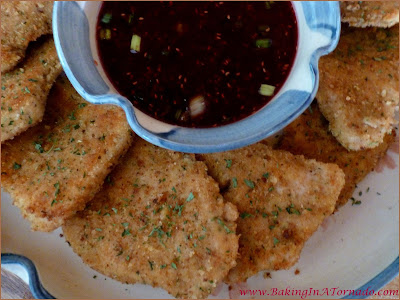 Turkey Cutlets with Raspberry Sauce: Turkey cutlets breaded and pan fried, served with an orange raspberry sauce for a quick and easy dinner | Recipe developed by www.BakingInATornado.com | #recipe #dinner