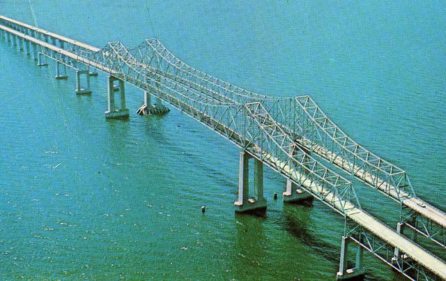 Sunshine Sky-Way Bridge (Florida USA)