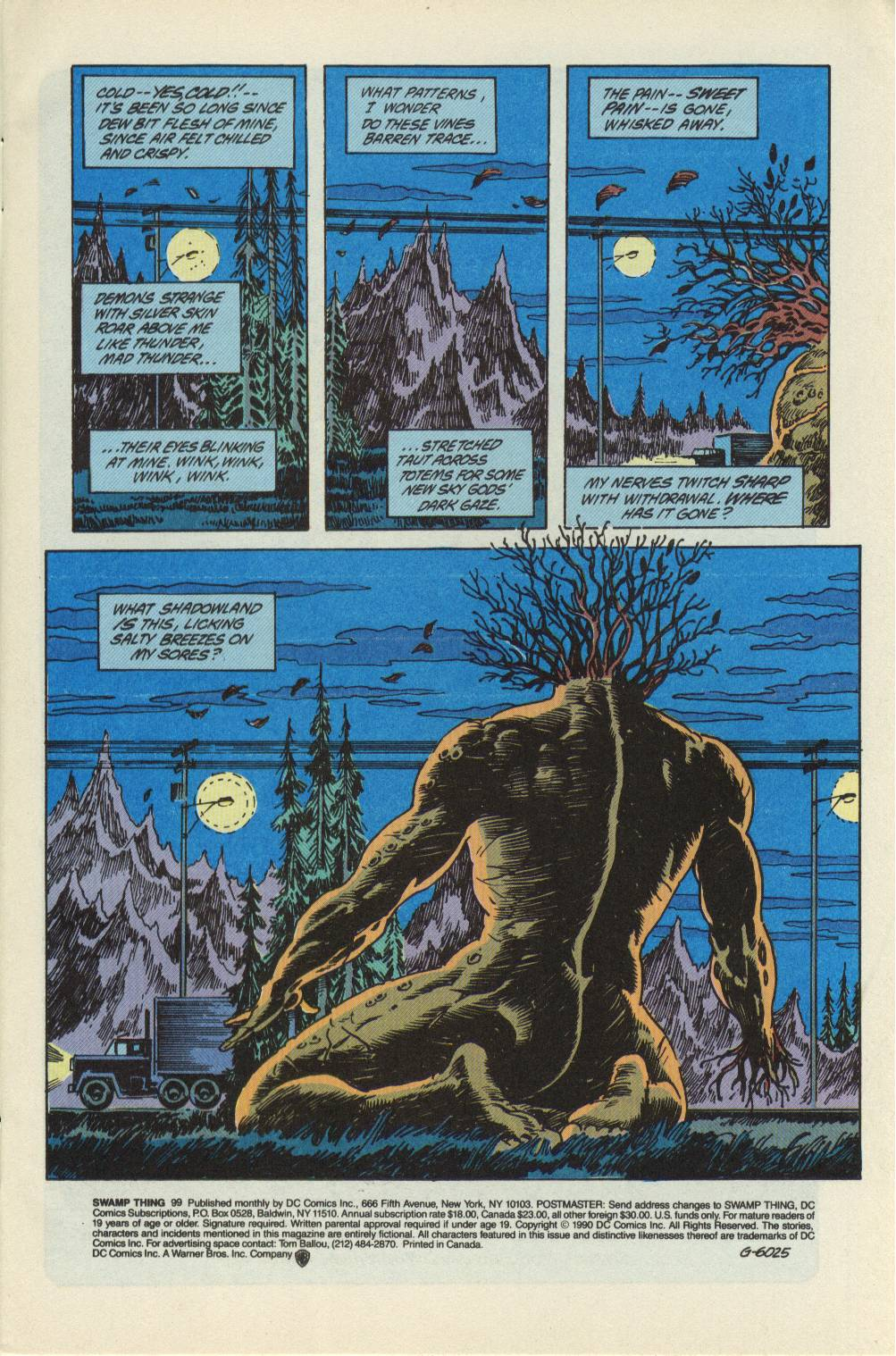 Swamp Thing (1982) Issue #99 #107 - English 2