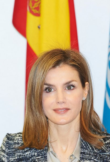 Queen Letizia attends a meeting with UNICEF Spain