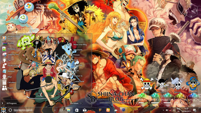 Windows 10 Ver. 1703 Theme One Piece by Enji Riz