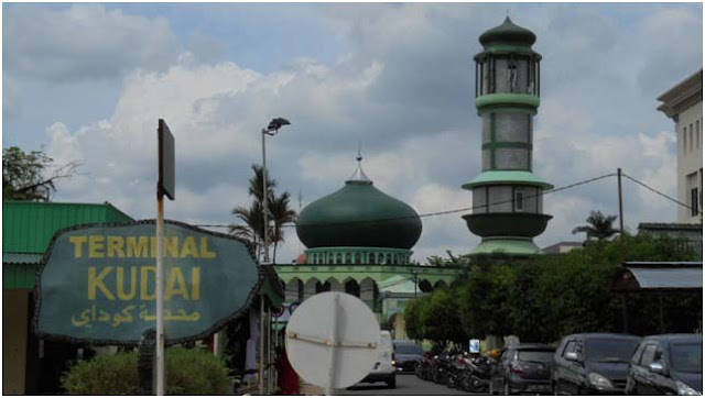 Sebuah masjid di dalam komplek Asrama Haji Medan Johor