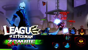 League of Stickman Zombie Mod v1.2.2 APK Free Shopping Terbaru