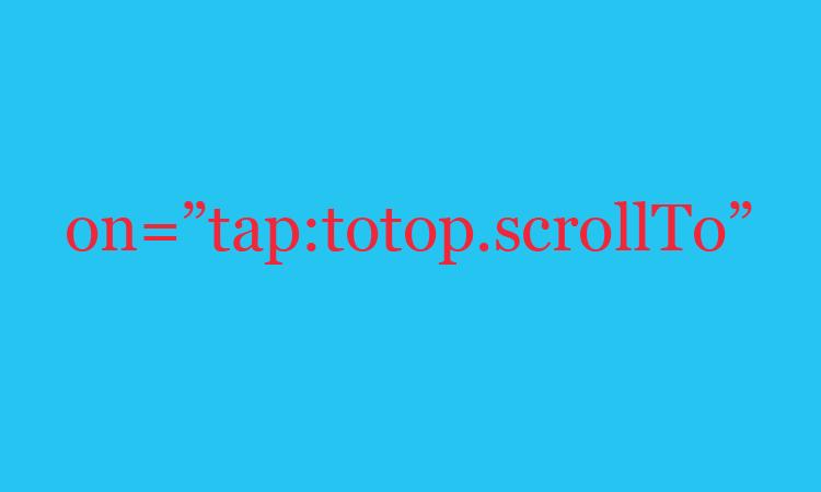 Membuat ScrollTo Pada Sticky Header Untuk Blog AMP