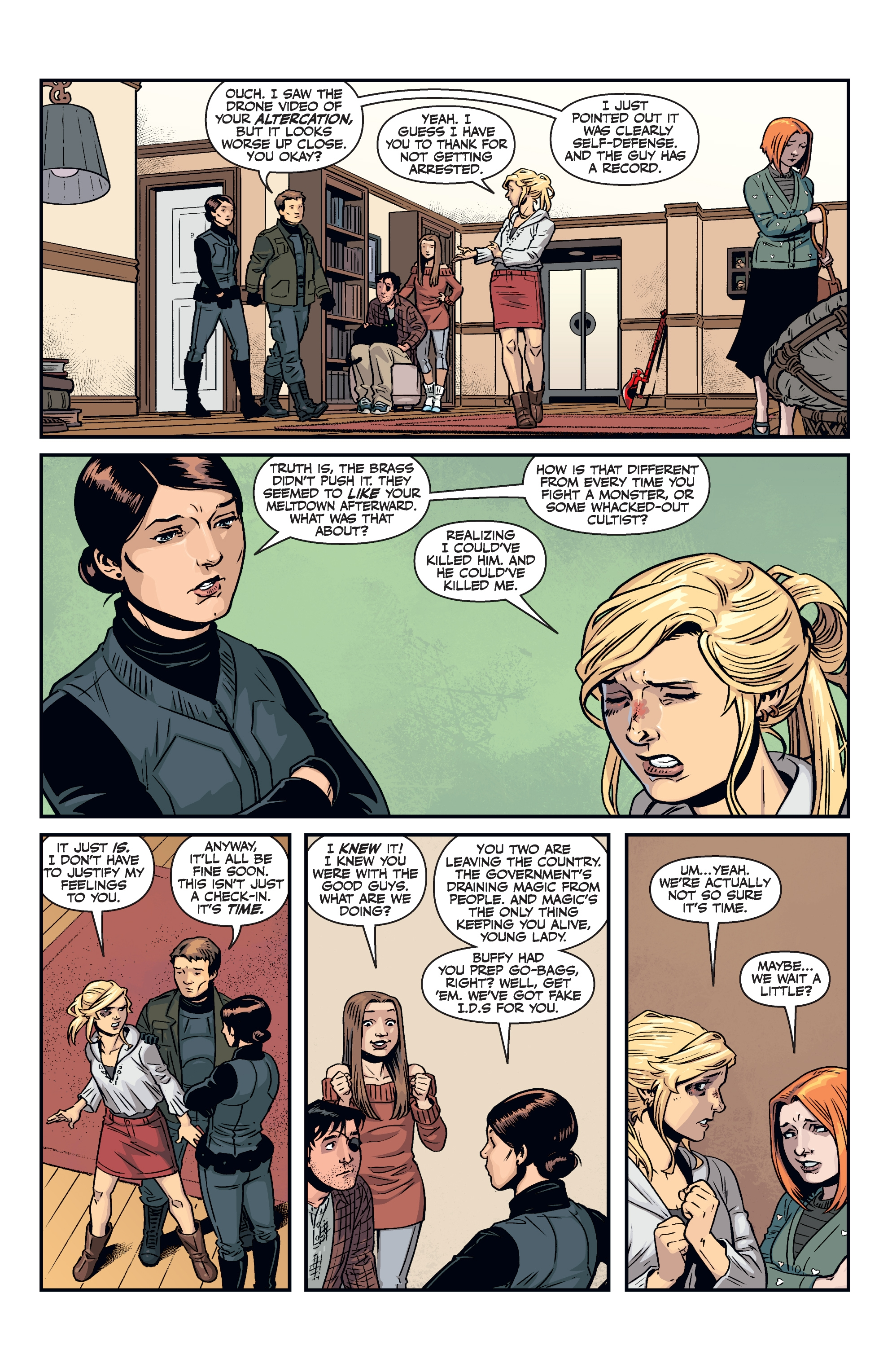 Read online Buffy the Vampire Slayer Season 11 comic -  Issue #8 - 16
