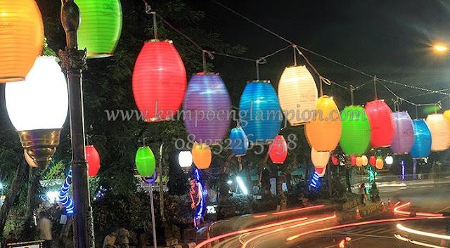 LAMPION menghiasi kota Denpasar - Bali
