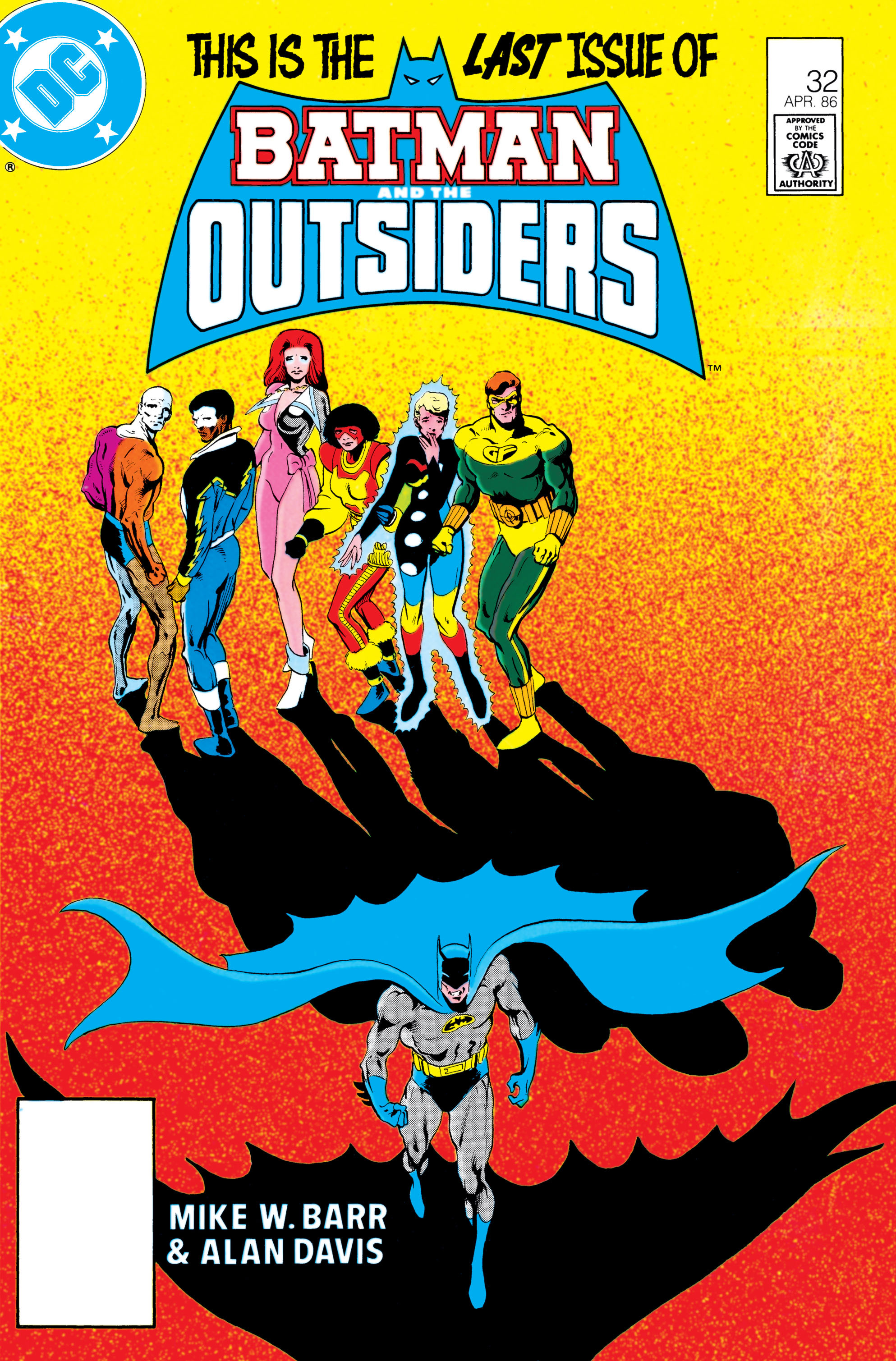 Batman and the Outsiders (1983) 32 Page 1