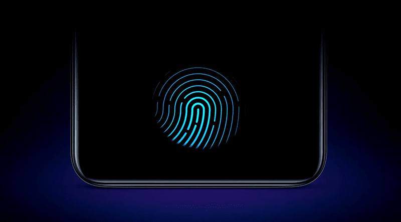 In-Display Fingerprint scanner of Vivo V11