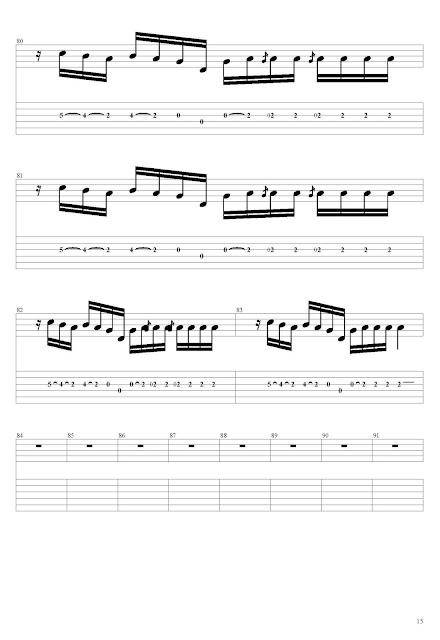 Michael Jackson - Smooth Criminal (Guitar Tabs & Notations) Tabs & Sheet Music