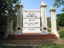 Chính quyền nhà họ Khúc (905 – 930)