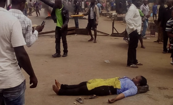 student killed anambra pro biafra rally