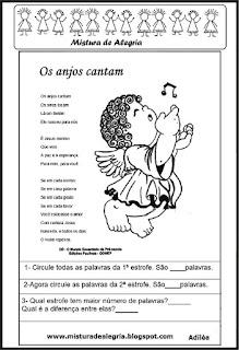 Natal-poesia os anjos cantam