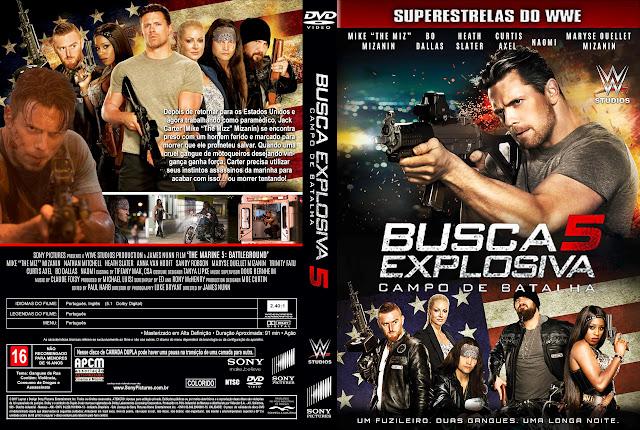 Capa DVD Busca Explosiva 5 Campo de Batalha [Exclusiva]