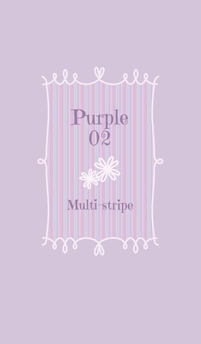 Multi-stripe/Purple02r