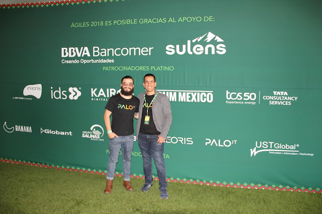 Alex Canizales y Franco Gonzalez
