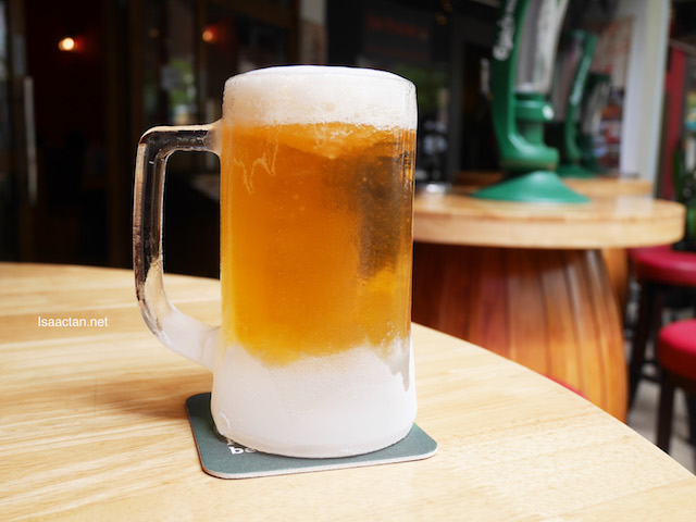 Grab a frosty beer, specialty item from Freond Tavern while you're there!