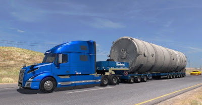 Mega Silo Long Trailer