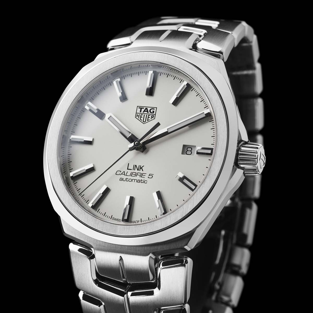 Tag heuer link for men calibre 5 time and watches for Tag heuer c flex