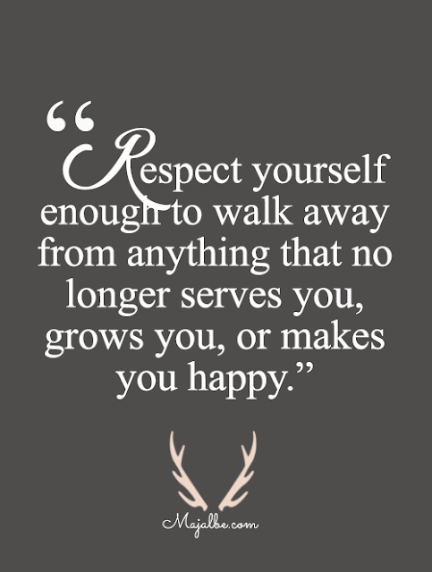 Respect Yourself To Step Aside Love Quotes