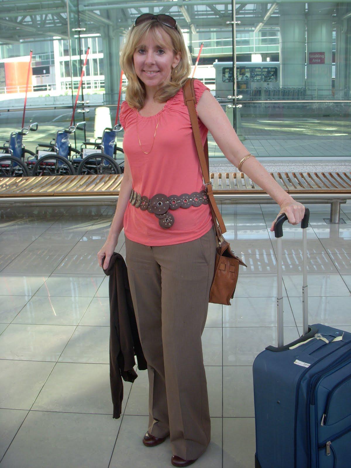 Airport milf