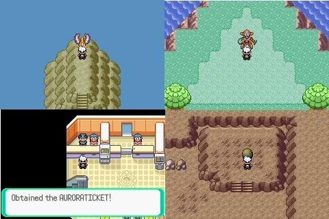 Pokemon Emerald Region Starter