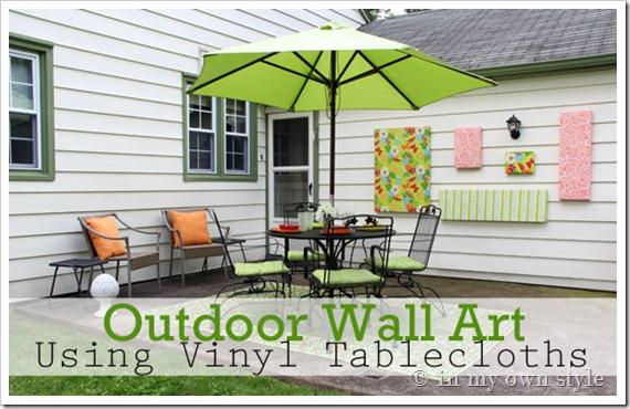 Maison newton inexpensive patio decor ideas for Inexpensive outdoor decor