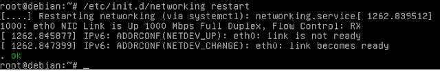 Cara Konfigurasi IP Address di Debian